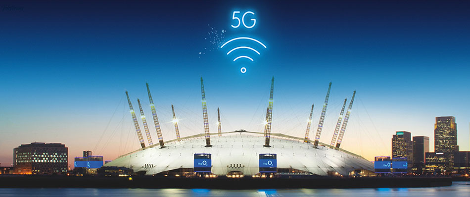 O2 to launch 5G test bed at The O2